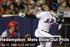 Redemption: Mets Blow Out Phils
