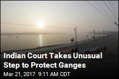 To Protect Ganges, Court Gives It Same Rights as a Human