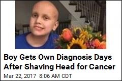 Boy Shaves Head for Cancer Days Before His Own Diagnosis