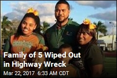 Highway Crash Kills Family of 5