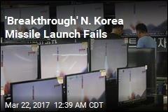 Latest N. Korea Missile Launch Flops