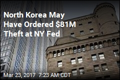 North Korea May Have Ordered $81M Theft at NY Fed