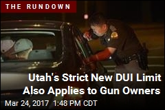 Utah Lowers Drunken Driving Limit to 0.05 BAC