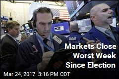Markets Close Worst Week Since Election
