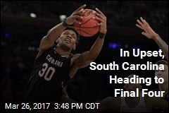 In Upset, South Carolina Heading to Final Four