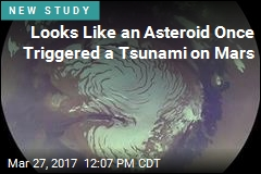 Looks Like an Asteroid Once Triggered a Tsunami on Mars