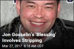 Jon Gosselin's Next Gig Involves Stripping