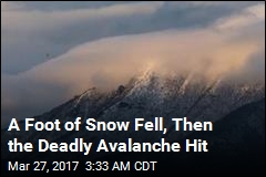 Just Before Climbing Event's End, Deadly Avalanche Hits