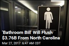 'Bathroom Bill's' Toll on North Carolina: $3.76B