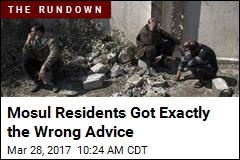 Mosul Residents Got Exactly the Wrong Advice