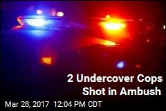 2 Undercover Cops Shot in Ambush