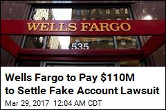 Wells Fargo to Pay $110M to Settle Fake Account Lawsuit