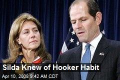 Silda Knew of Hooker Habit