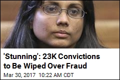 23K Convictions to Be Wiped Thanks to Crooked Chemist