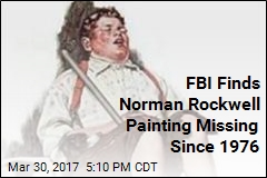 FBI Recovers Norman Rockwell Painting Stolen in 1976
