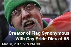 Creator of Rainbow Flag Dies at 65