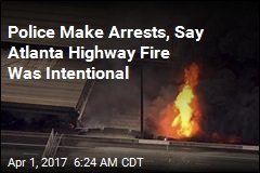 3 Arrested After Atlanta Highway Fire