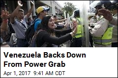 Venezuela High Court Reverses Power Grab