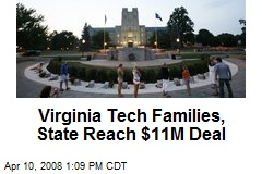 Virginia Tech Families, State Reach $11M Deal