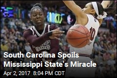 South Carolina Spoils Mississippi State's Miracle