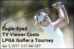 Surprise Ruling Costs LPGA Golfer a Tourney