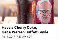 Have a Cherry Coke, Get a Warren Buffett Smile