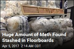 Aussies Seize Record Amount of Meth Hidden in Floorboards