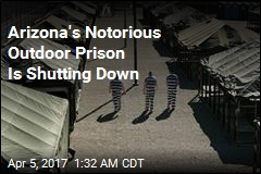 New Sheriff Is Shutting Down Arizona's 'Tent City'