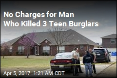 Man Who Killed 3 Teen Burglars Won't Be Charged