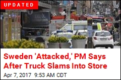 At Least 3 Dead After Truck Slams Into Store in Stockholm