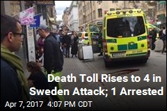 1 Arrested in Sweden Attack as Death Toll Rises to 4