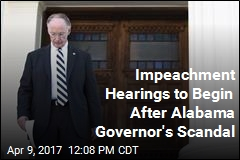 Impeachment Hearings Start Monday for Alabama Governor