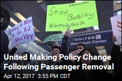 United to Stop Using Police to Remove People From Flights