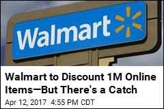 Walmart to Offer Big Discounts —If You'll Leave Your House