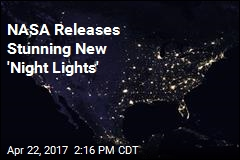 NASA Releases Stunning New 'Night Lights'
