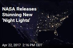 NASA Releases Stunning New 'Night Lights'
