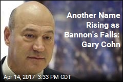 Another Name on the Rise at White House: Gary Cohn