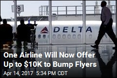 Delta OKs Offers of Up to $10K to Flyers Who Give Up Seats