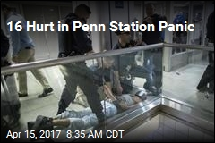 16 Hurt in Penn Station Panic