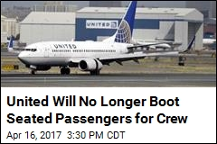 United Makes a Policy Change After Boarding Fiasco