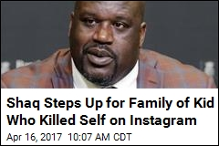 Shaq Paying for Funeral of Boy Who Killed Self on Instagram