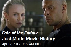 Fate of the Furious Just Made Movie History