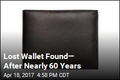 Lost Wallet Found— After Nearly 60 Years