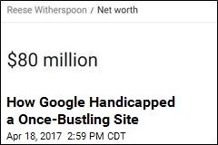 CelebrityNetWorth.com Has a Google Headache