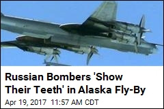 2 Russian Bombers Intercepted Near Alaska This Week