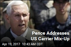 Pence Addresses US Carrier Mix-Up