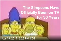 The Simpsons Have Officially Been on TV for 30 Years