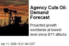 Agency Cuts Oil-Demand Forecast