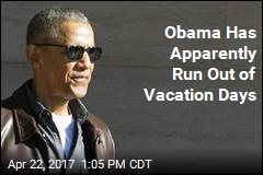 Obama Is Coming Back From Vacation
