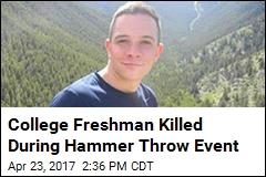 Freak Track and Field Accident Kills College Freshman